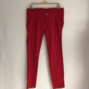NUON Skinny Red Pants